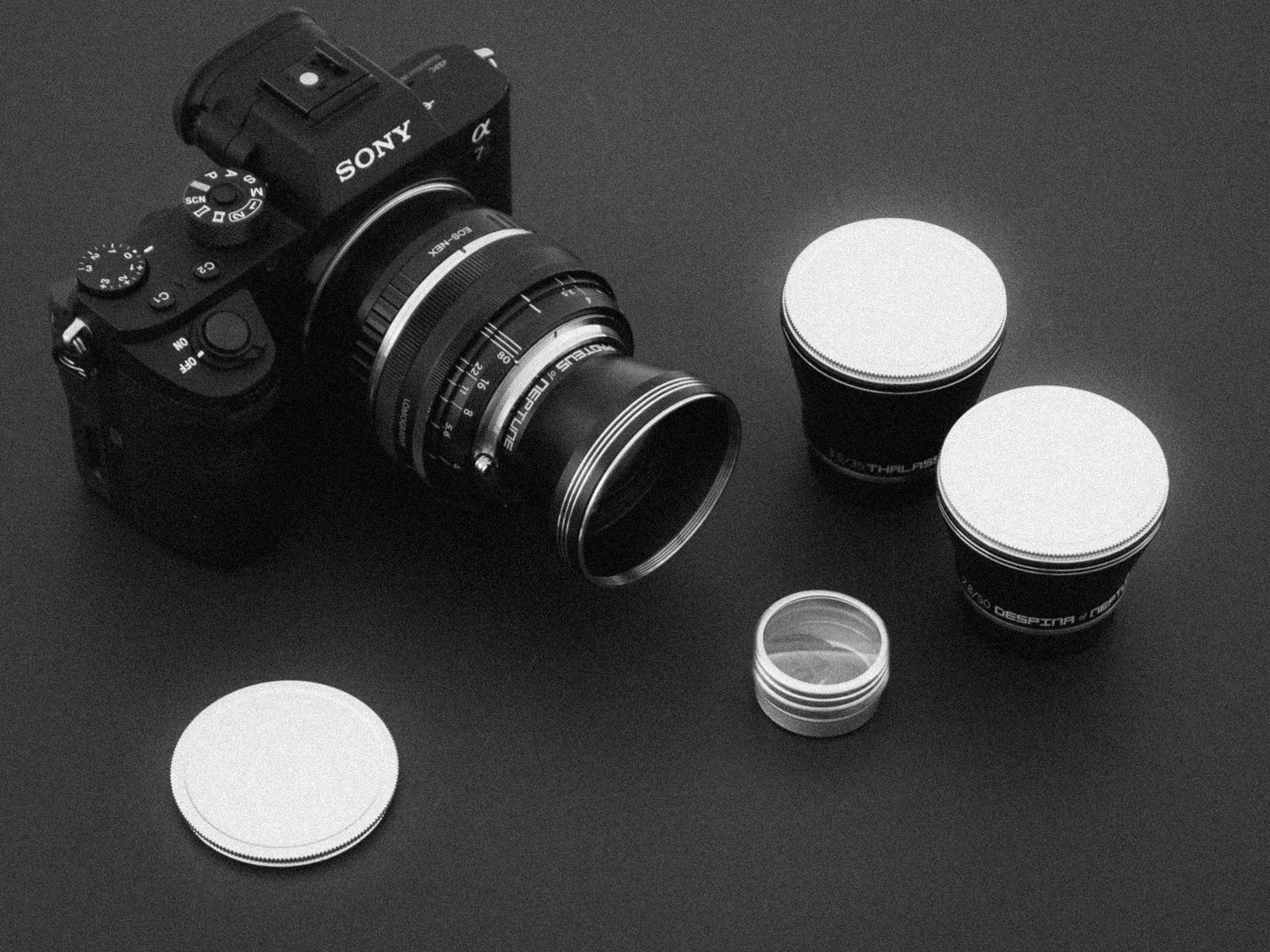 Lomography Neptune objektiver på Sony A7r ii